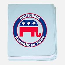 California Republican Party Original baby blanket
