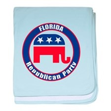 Florida Republican Party Original baby blanket