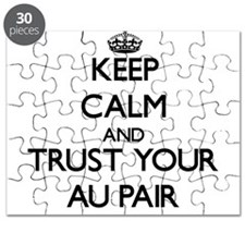 Keep Calm and Trust Your Au Pair Puzzle