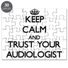 Keep Calm and Trust Your Audiologist Puzzle