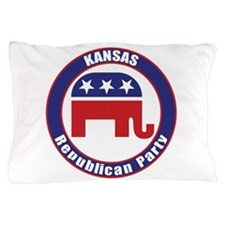 Kansas Republican Party Original Pillow Case