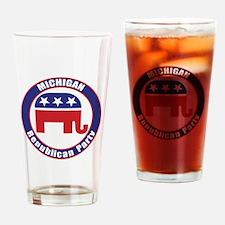 Michigan Republican Party Original Drinking Glass