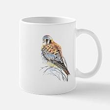 Watercolor Kestrel Falcon Bird art Mugs