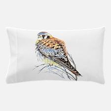 Watercolor Kestrel Falcon Bird art Pillow Case