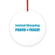 Sheepdog Parent Ornament (Round)