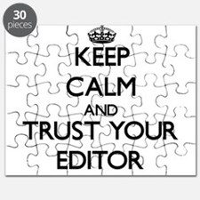 Keep Calm and Trust Your Editor Puzzle