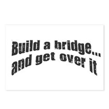 Build a bridge Postcards (Package of 8)