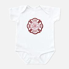 Fire Dept Infant Bodysuit