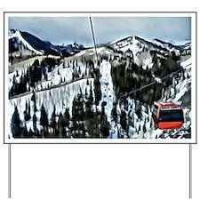 Gondola at the Canyons Resort Yard Sign