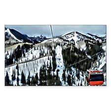 Gondola at the Canyons Resort Decal