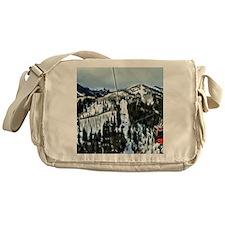 Gondola at the Canyons Resort Messenger Bag