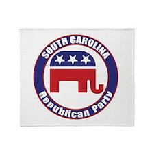 South Carolina Republican Party Original Throw Bla