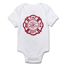 Fire Dept Infant Bodysuit
