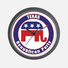 Texas Republican Party Original Wall Clock