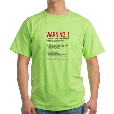 8x10condition_warn1 T-Shirt