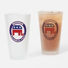Wisconsin Republican Party Original Drinking Glass