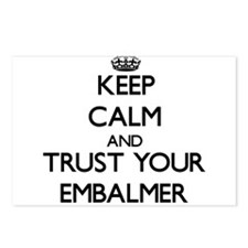 Keep Calm and Trust Your Embalmer Postcards (Packa