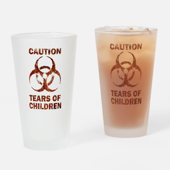 Tears of Children Drinking Glass