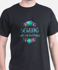Sewing Heart Happy T-Shirt
