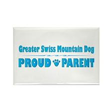 Swissie Parent Rectangle Magnet (100 pack)