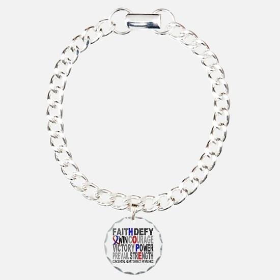 CHD Hope Collage Bracelet