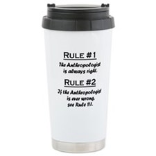 Cute Rule number Travel Mug