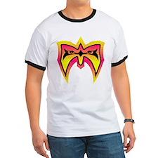 Ultimate Warrior Neon Mask T-Shirt