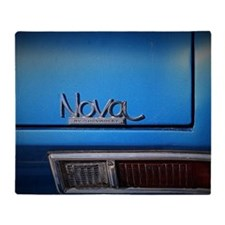Blue Nova Throw Blanket