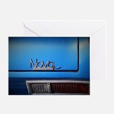 Blue Nova Greeting Card