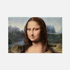 Cute Mona lisa Rectangle Magnet