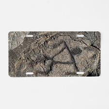 Puu Loa Petroglyph Aluminum License Plate
