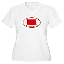 North Dakota RED STATE T-Shirt