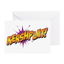 Kershsplat Greeting Cards