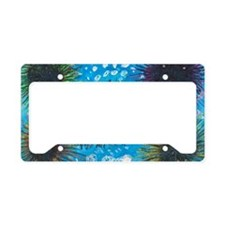 Sea Urchins License Plate Holder