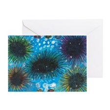 Sea Urchins Greeting Card