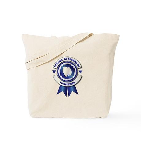 Showing Pomeranian Tote Bag