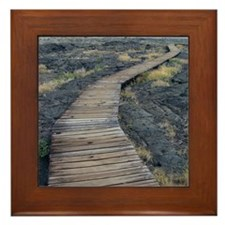 puuloa boardwalk Framed Tile