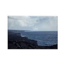 big island coast Rectangle Magnet