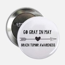 """Go Gray In May 2.25"""" Button (10 Pack)"""