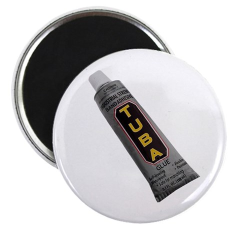 "Tuba Glue 2.25"" Magnet (100 pack)"