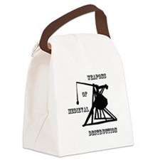 Weapons Of Medieval Destruction Canvas Lunch Bag