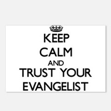 Keep Calm and Trust Your Evangelist Postcards (Pac