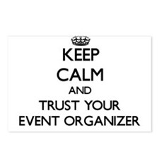 Keep Calm and Trust Your Event Organizer Postcards
