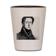The Great Composer Chopin Shot Glass
