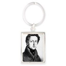 The Great Composer Chopin Portrait Keychain