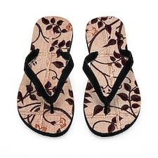 William Morris Jasmine Trellis Flip Flops