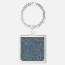 William Morris Marigold Square Keychain