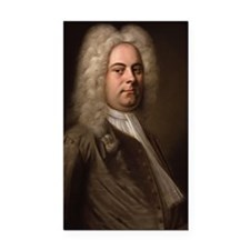 Handel Rectangle Car Magnet