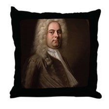 Handel Throw Pillow
