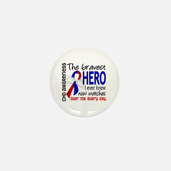 CHD Bravest Hero Mini Button